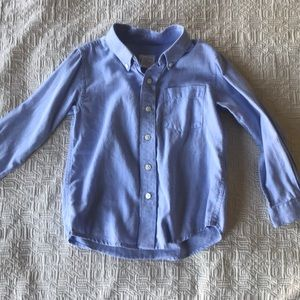 Talbots Kids sz 5 long sleeve button down